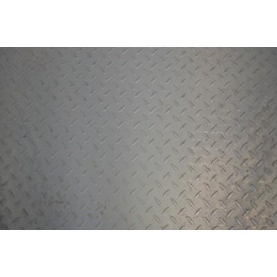 钢板压花板防滑6.5mm*1510*6000不锈钢花纹板规格尺寸表-- 苏州闽商道物资有限公司