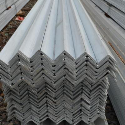 出售3#热镀锌角铁30*30*3镀锌角钢白色一支多重一根多长厚